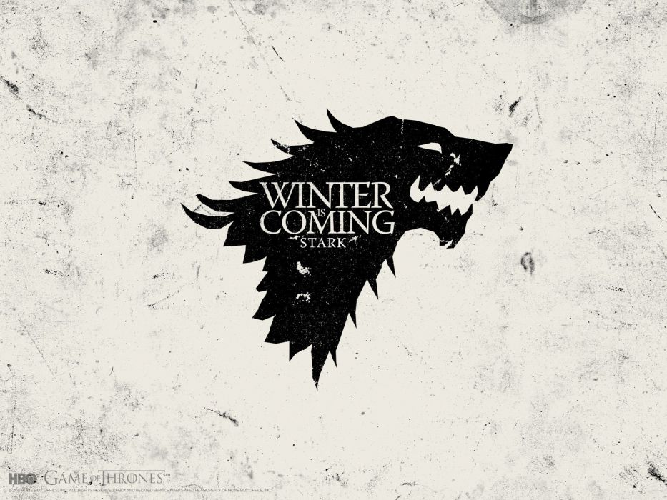 series Game of Thrones TV series Winter is Coming arms House Stark wallpaper