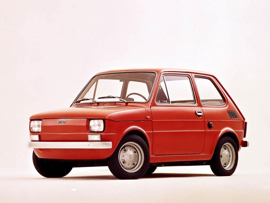 cars Polish Poland Fiat vehicles Fiat 126P Fabryka SamochodAIA wallpaper