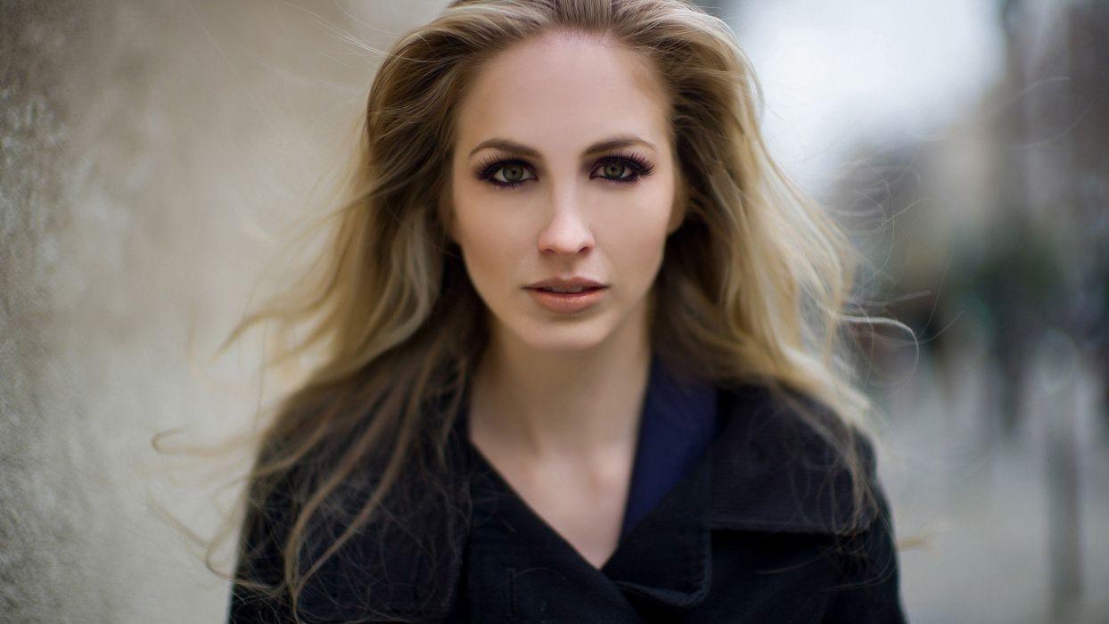 blondes women models LaunchLook wallpaper