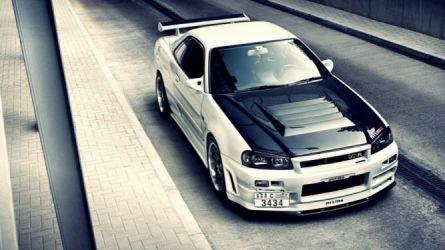 Nissan Skyline GTR R34 tuning wallpaper   1920x1080   438455   WallpaperUP