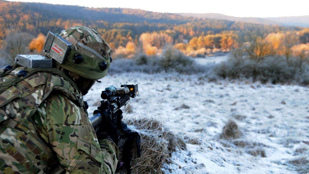 soldier men rivers mission wallpaper