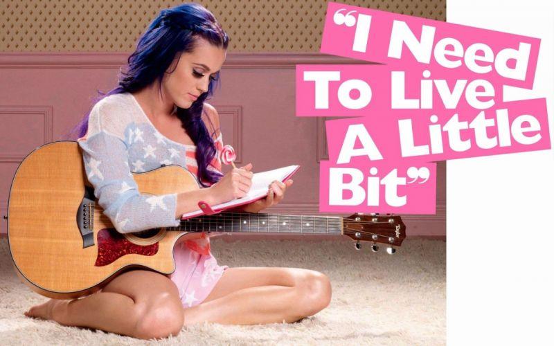women Katy Perry little live wallpaper
