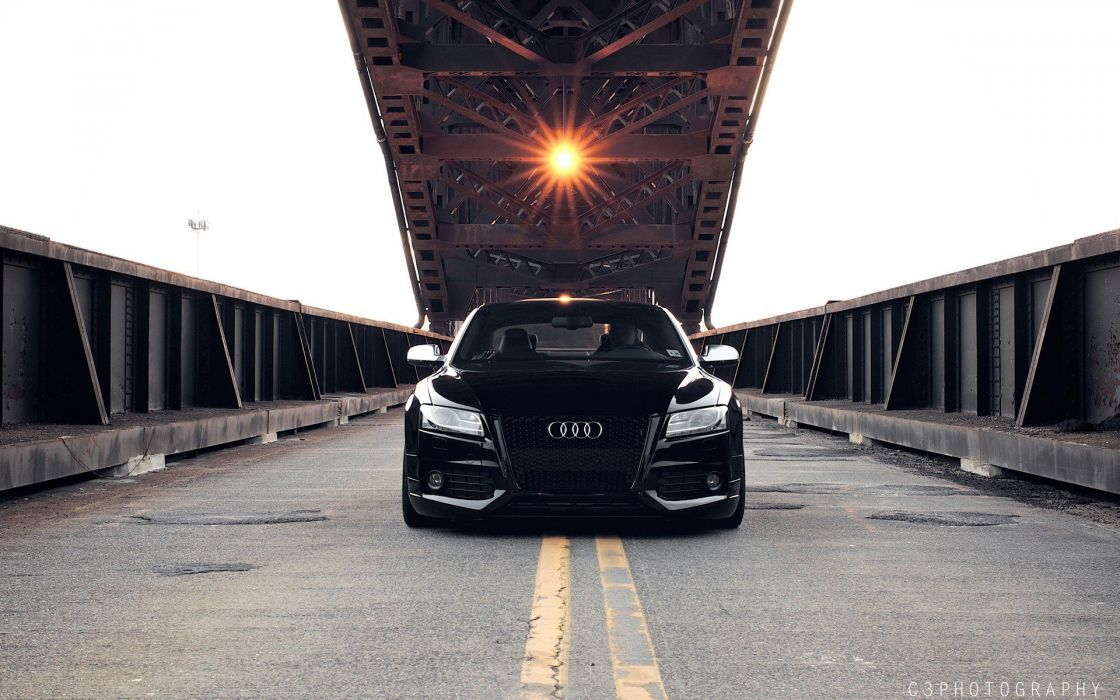 black cars vehicles tuning wheels sports cars Audi S5 luxury sport cars speed wallpaper