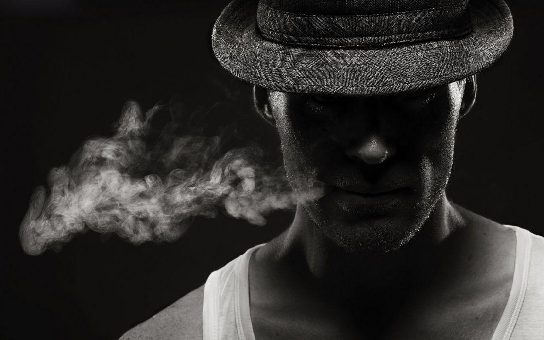 Smoke Men Wallpaper