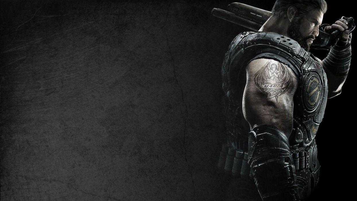 video games Gears of War Dom Santiago wallpaper