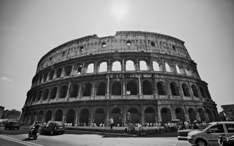 architecture Rome Italian Italy Colosseum wallpaper