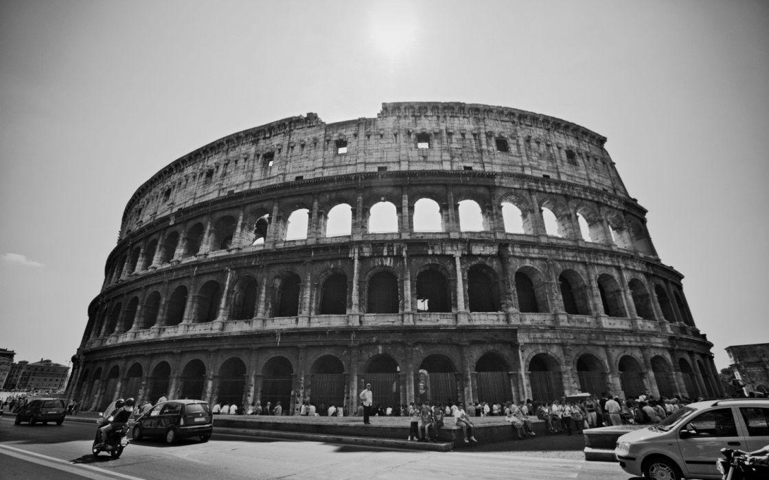 architecture Rome Italian Italy Colosseum wallpaper
