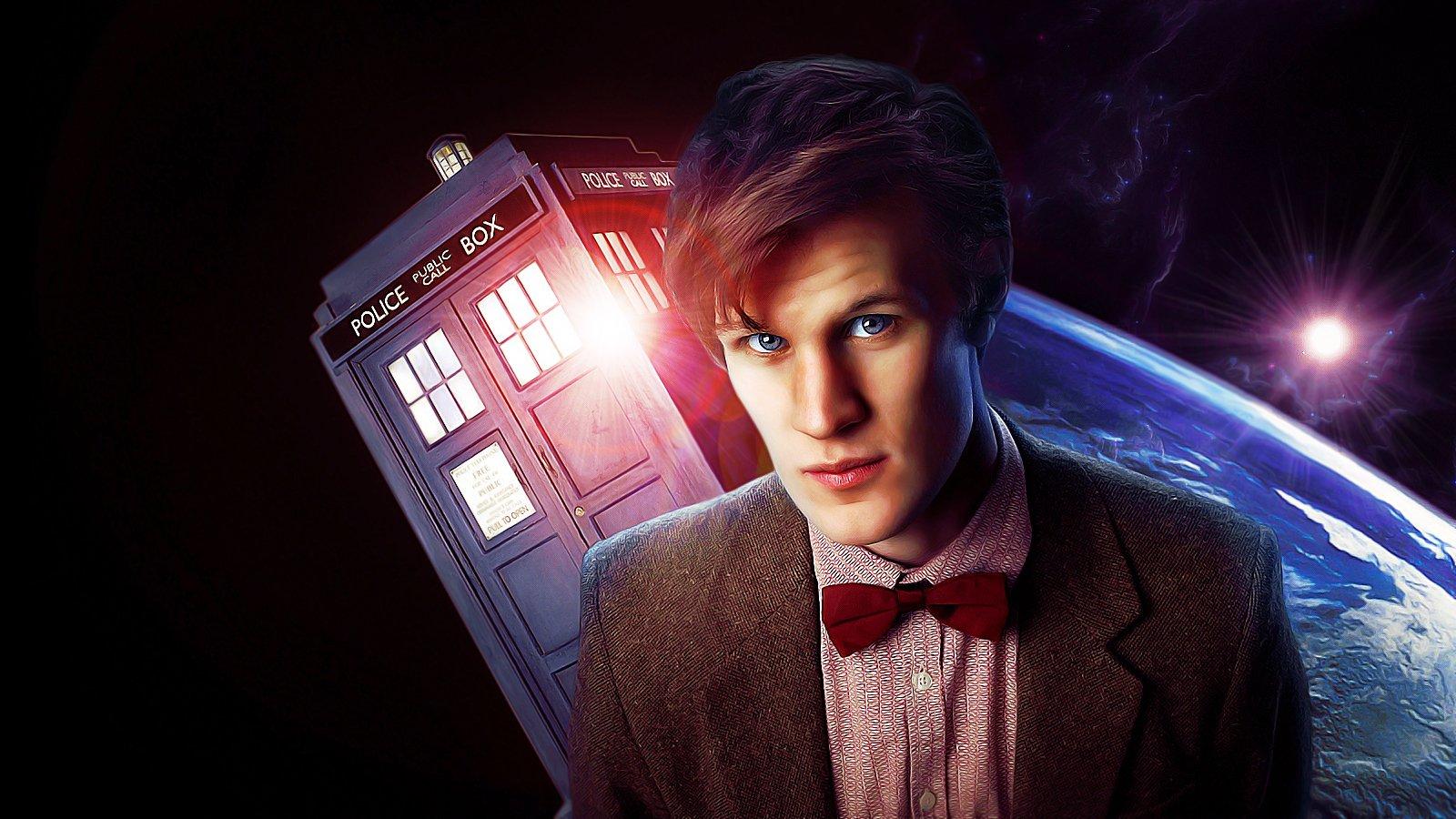 TARDIS Matt Smith Eleventh Doctor Doctor Who wallpaper ...