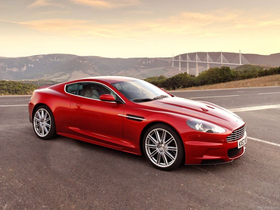 red cars Aston Martin Aston Martin DBS wallpaper