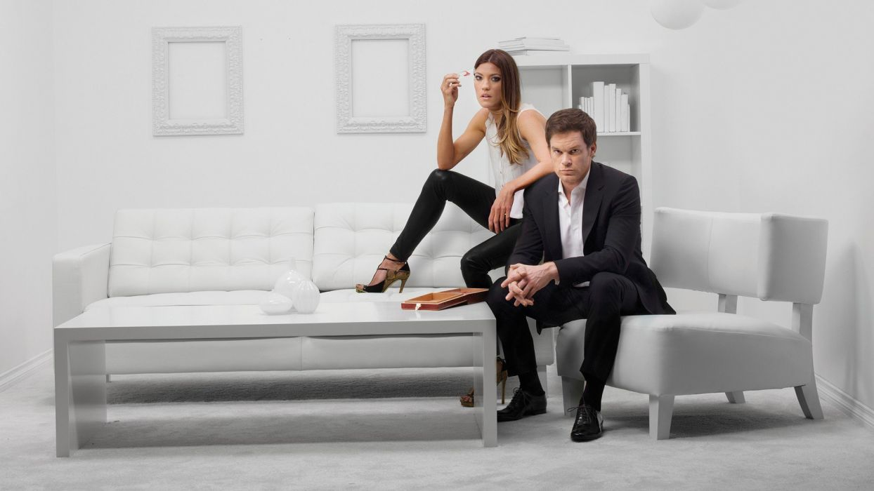 Dexter Jennifer Carpenter Michael C_ Hall TV series Dexter Morgan Debra Morgan wallpaper