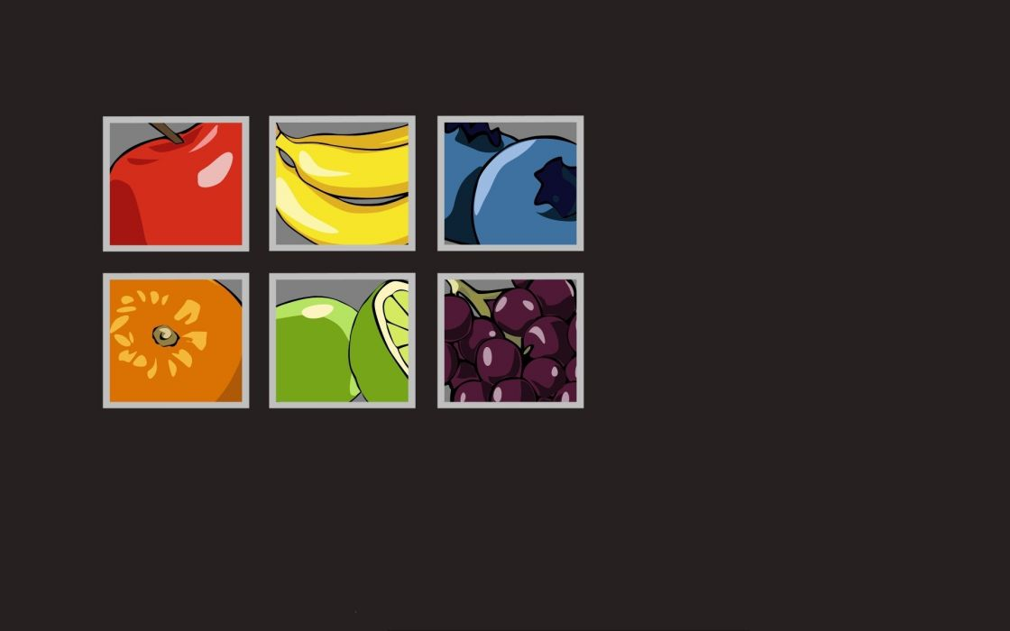 fruits artwork wallpaper