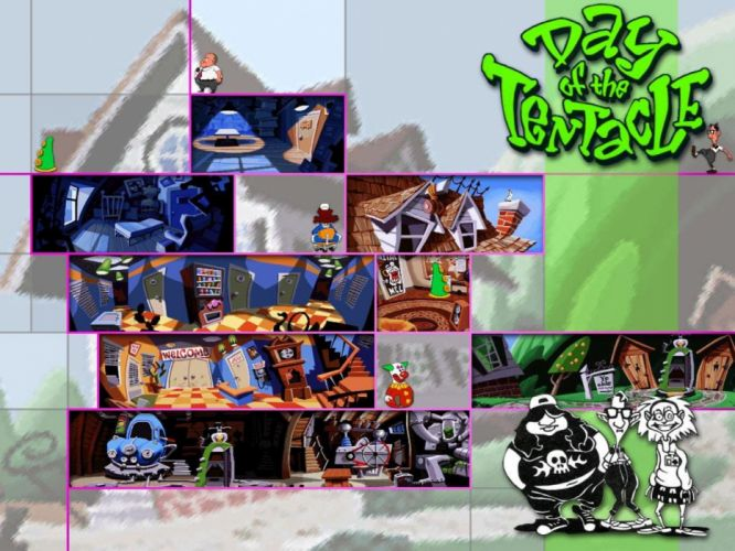 day of the tentacle wallpaper