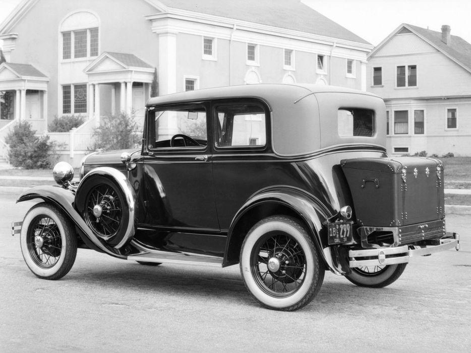 1930 Ford Model-A Victoria 190B retro     g wallpaper