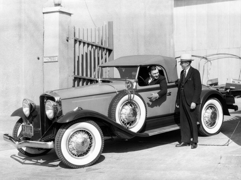 1931 Studebaker President Eight State Roadster (Model-80) retro    g wallpaper