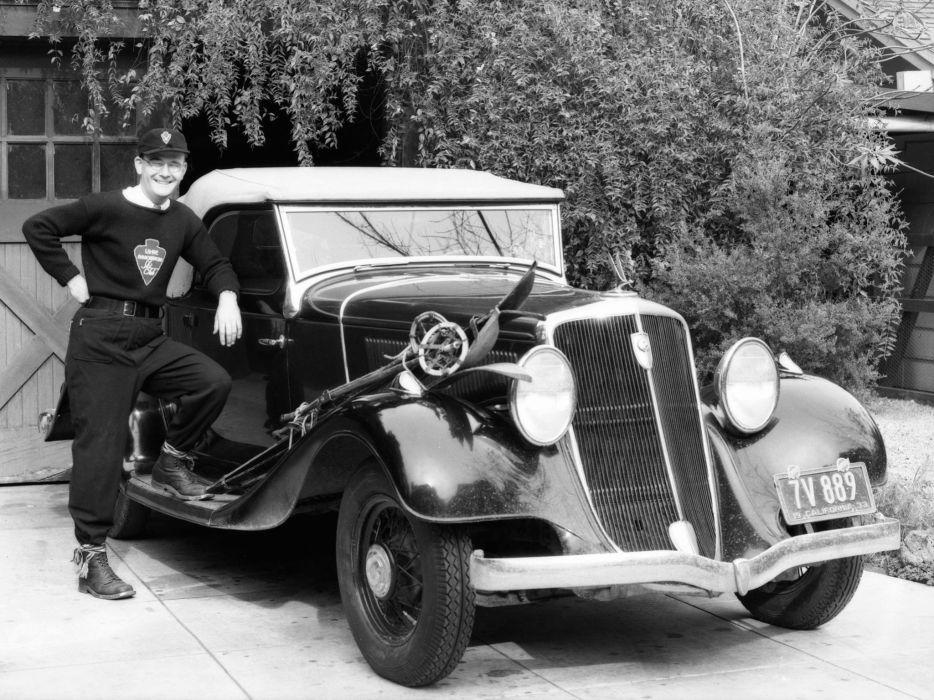 1933 Studebaker President Eight Roadster retro      f wallpaper