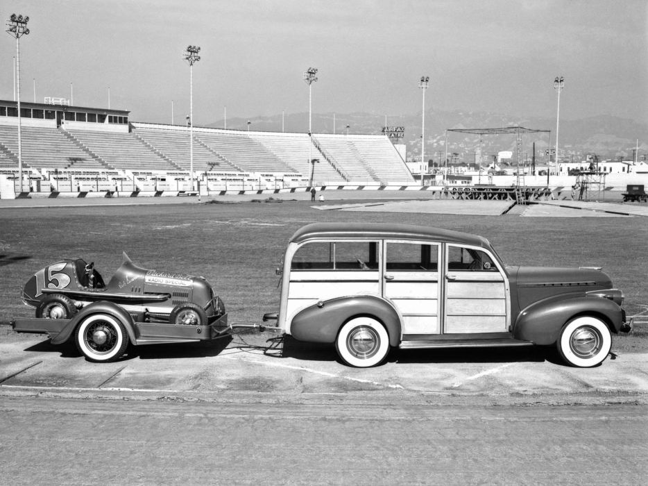 1940 Chevrolet Special DeLuxe StationWagon (KA-2109) retro suv woody race racing      h wallpaper