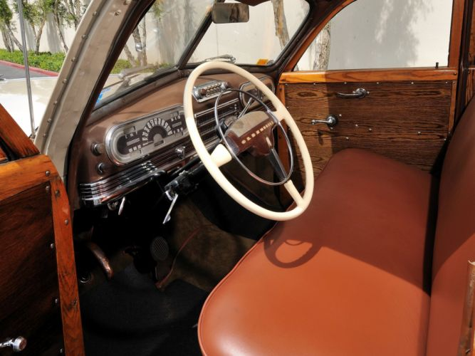 1947 Oldsmobile Special 66-68 StationWagon 3581 retro woody interior g wallpaper