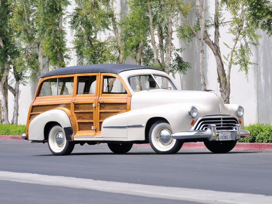 1947 Oldsmobile Special 66-68 StationWagon 3581 retro woody f wallpaper