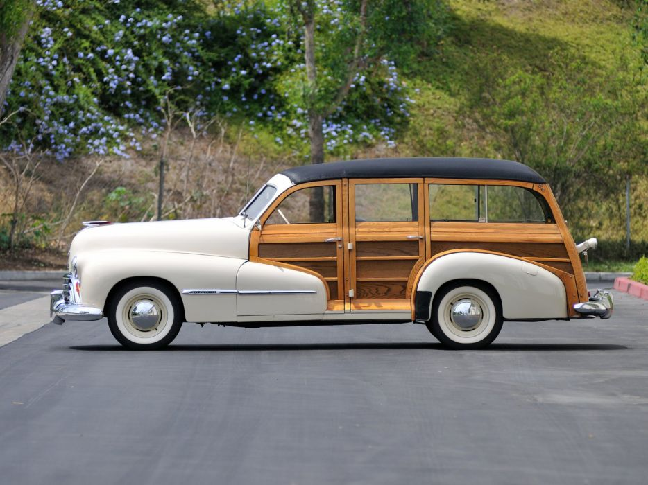 1947 Oldsmobile Special 66-68 StationWagon 3581 retro woody  h wallpaper