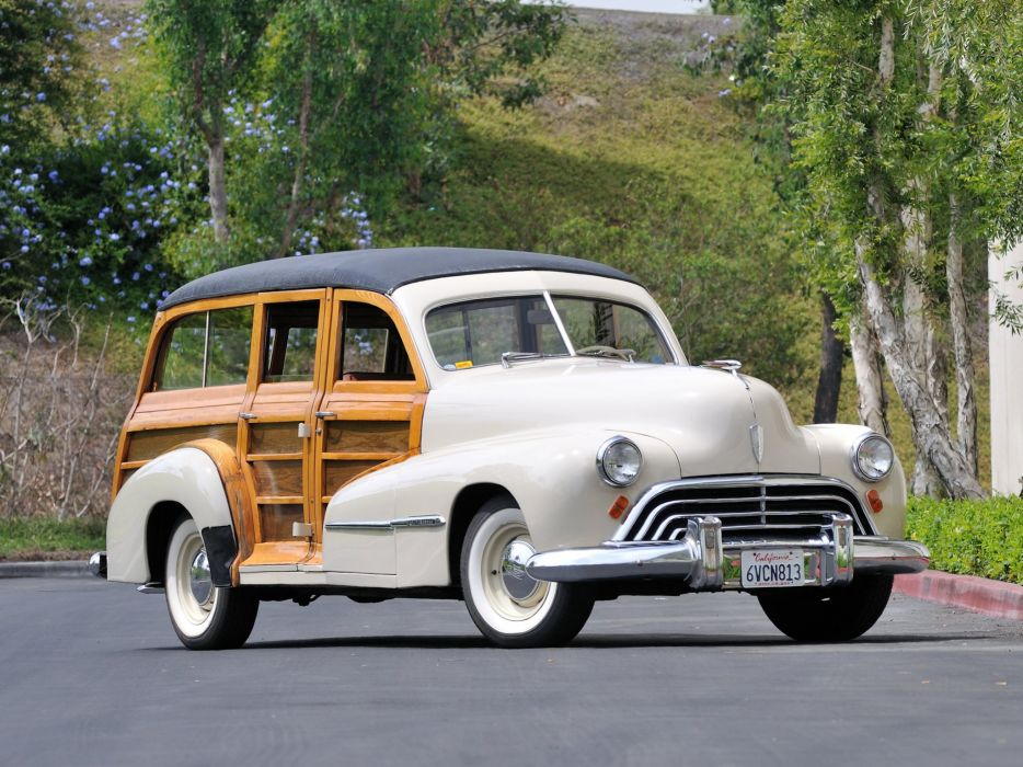 1947 Oldsmobile Special 66-68 StationWagon 3581 retro woody    f wallpaper