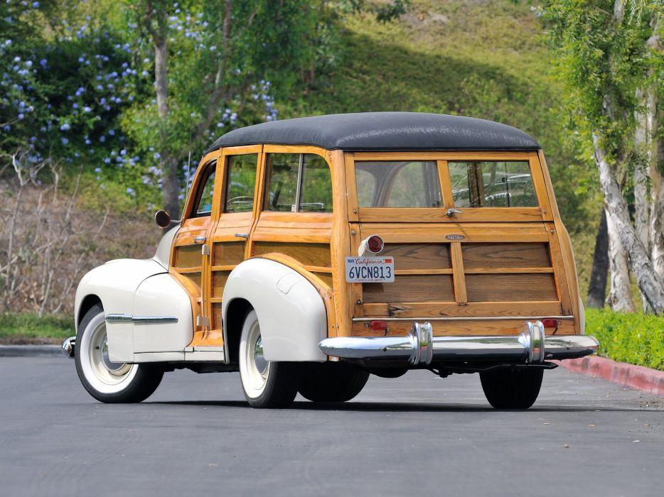 1947 Oldsmobile Special 66-68 StationWagon 3581 retro woody   j wallpaper