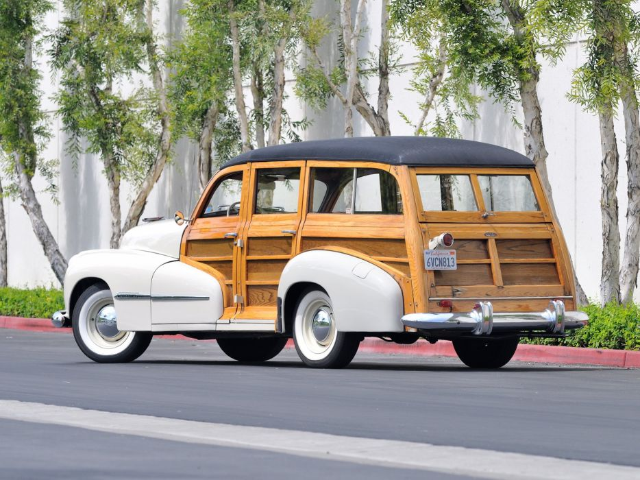 1947 Oldsmobile Special 66-68 StationWagon 3581 retro woody  hf wallpaper