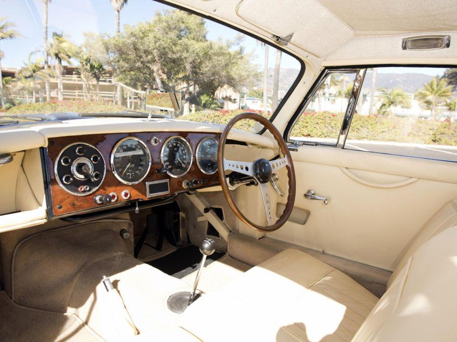 1953 Aston Martin DB24 Fixed Head Coupe Prototype by Mulliner LML-515 retro interior   k wallpaper
