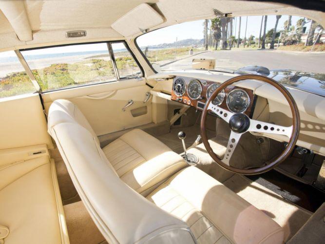 1953 Aston Martin DB24 Fixed Head Coupe Prototype by Mulliner LML-515 retro interior g wallpaper