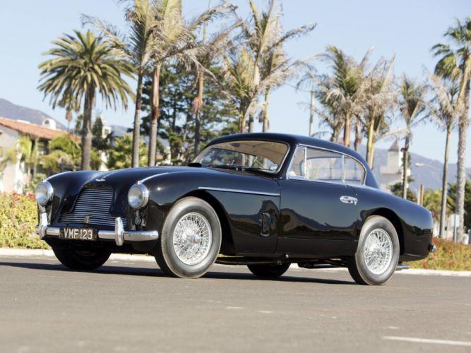 1953 Aston Martin DB24 Fixed Head Coupe Prototype by Mulliner LML-515 retro c wallpaper