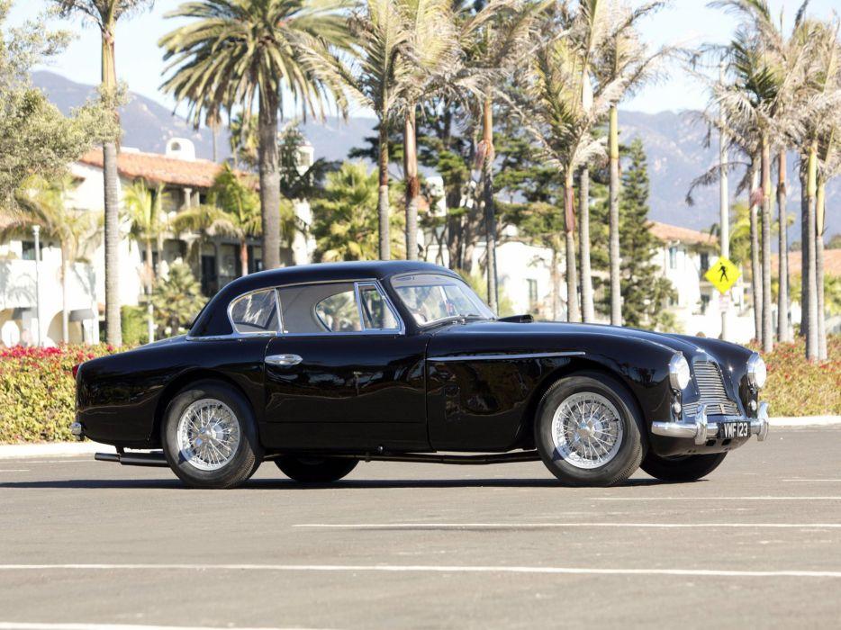 1953 Aston Martin DB24 Fixed Head Coupe Prototype by Mulliner LML-515 retro q wallpaper