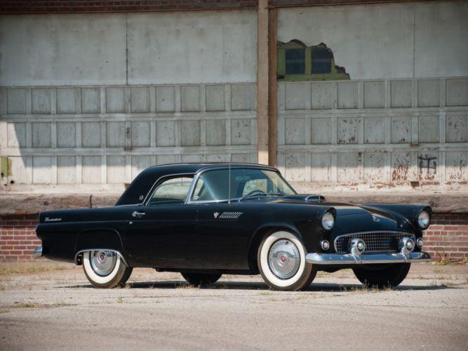 1955 Ford Thunderbird retro gh wallpaper