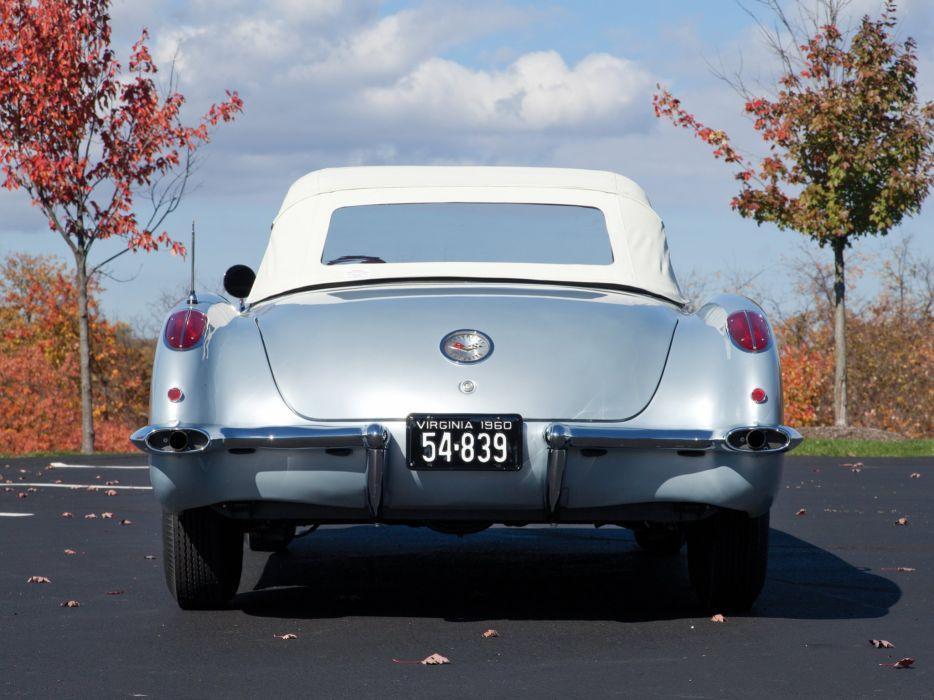 1959-60 Chevrolet Corvette C-1 (867) muscle retro classic supercar f wallpaper