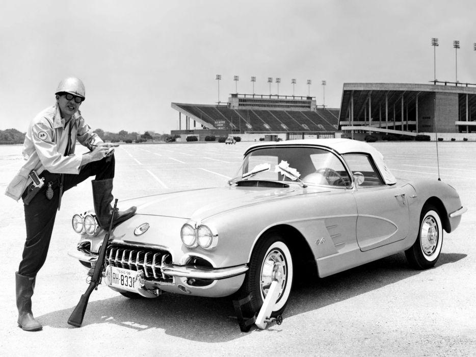 1959-60 Chevrolet Corvette C-1 (867) muscle retro classic supercar   e wallpaper
