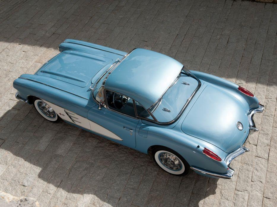 1959-60 Chevrolet Corvette C-1 (867) muscle retro classic supercar   hs wallpaper