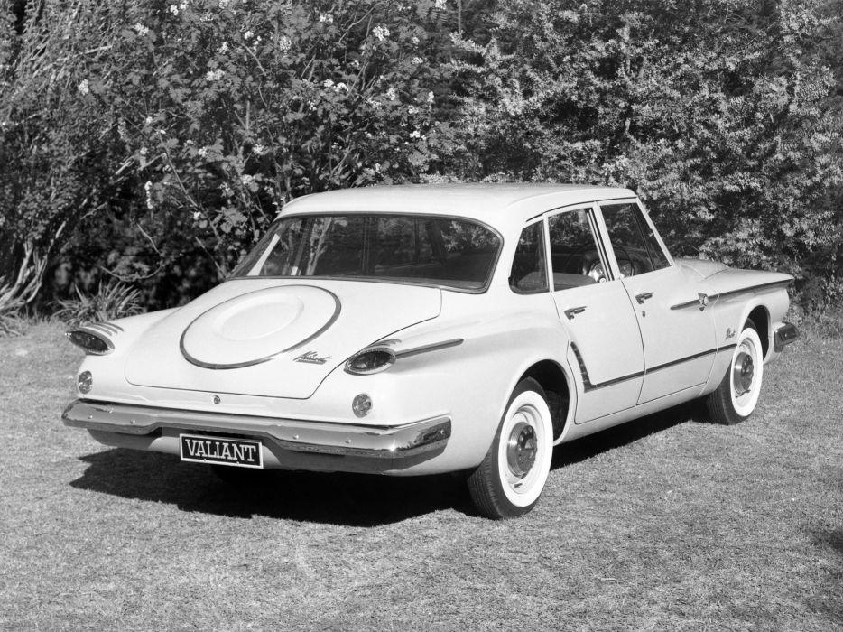 1962 Chrysler Valiant (RV1) classic  d wallpaper