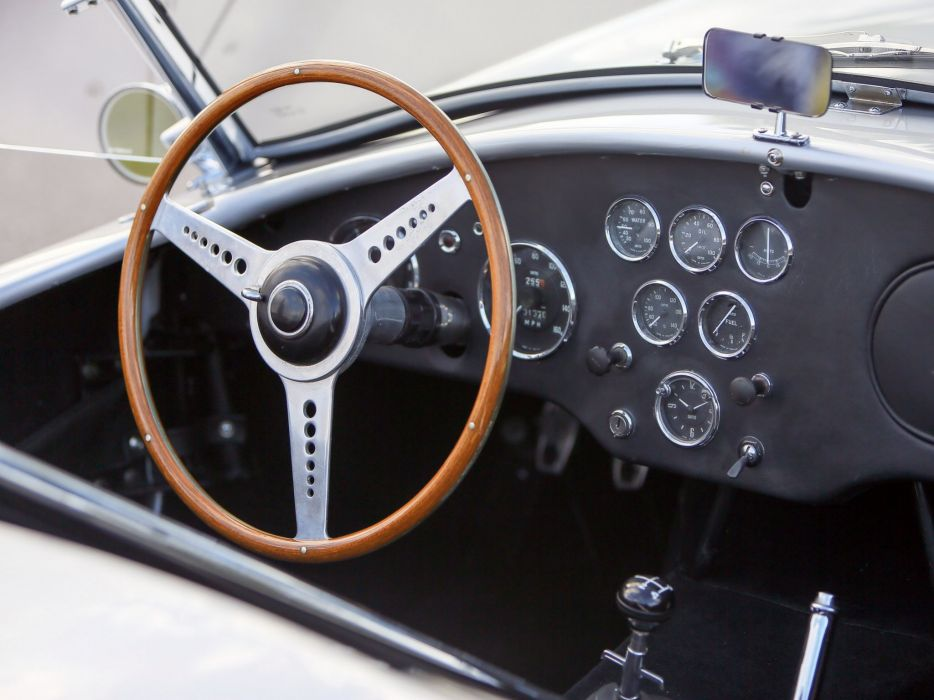 1962-63 Shelby Cobra 260 MkI supercar muscle classic interior    g wallpaper