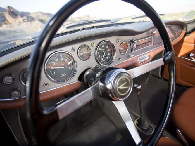 1962-67 Simca 1000 Coupe classic interior h wallpaper