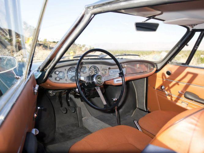 1962-67 Simca 1000 Coupe classic interior g wallpaper