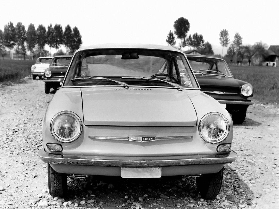 1962-67 Simca 1000 Coupe classic  h wallpaper