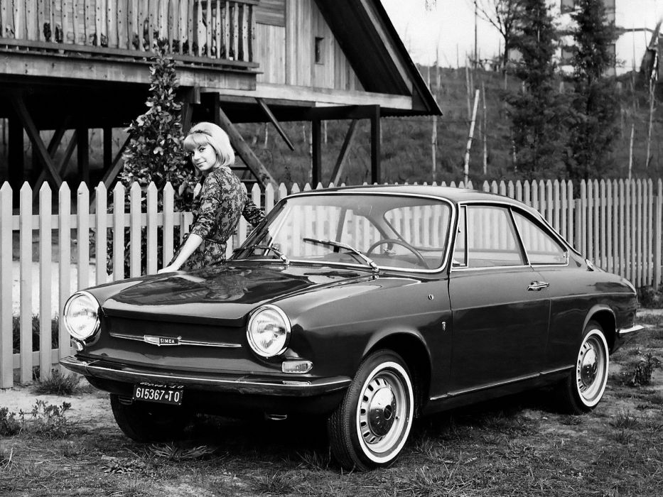 1962-67 Simca 1000 Coupe classic  g wallpaper