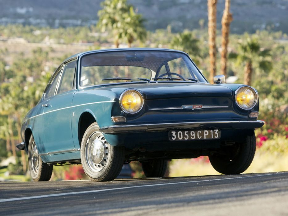 1962-67 Simca 1000 Coupe classic   r wallpaper