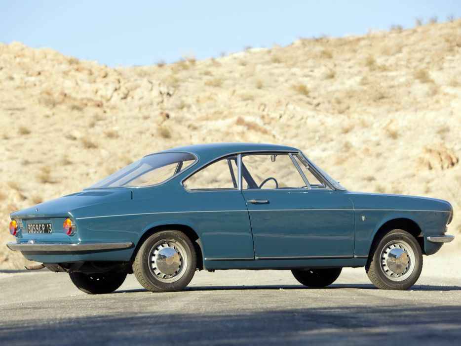 1962-67 Simca 1000 Coupe classic   h wallpaper