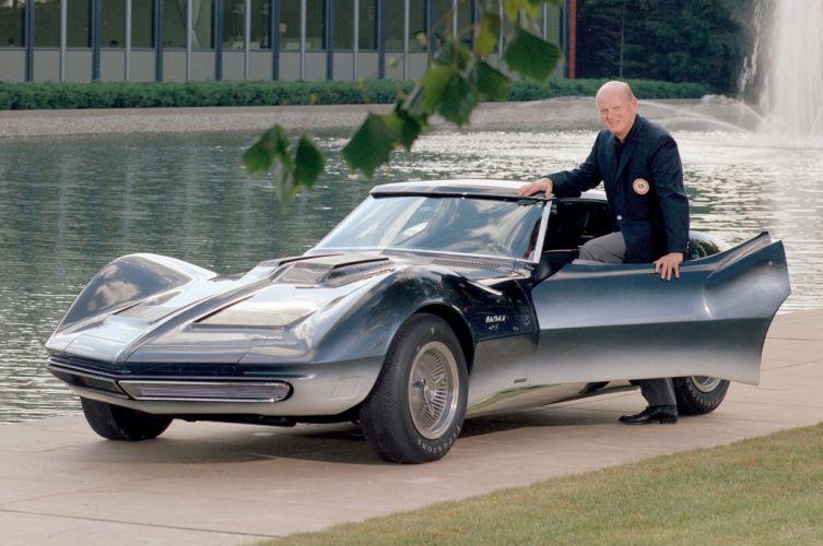 1965 Chevrolet Corvette Mako Shark II Concept supercar muscle hot rod rods g wallpaper