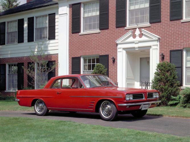 1963 Pontiac Tempest LeMans Hardtop Coupe (2217) classic g wallpaper