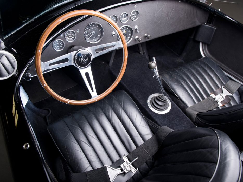 1965 Shelby Cobra 427 MkIII supercar hot rod rods muscle classic interior    h wallpaper