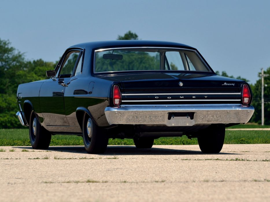 1967 Mercury Comet 202 2-door Sedan R-Code 427 425HP muscle classic   g wallpaper