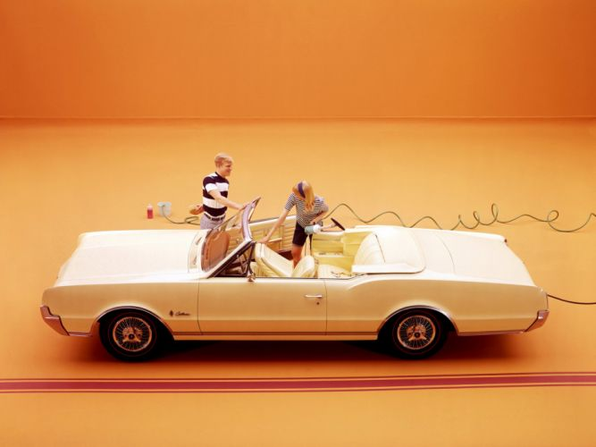 1967 Oldsmobile Cutlass Convertible classic f wallpaper