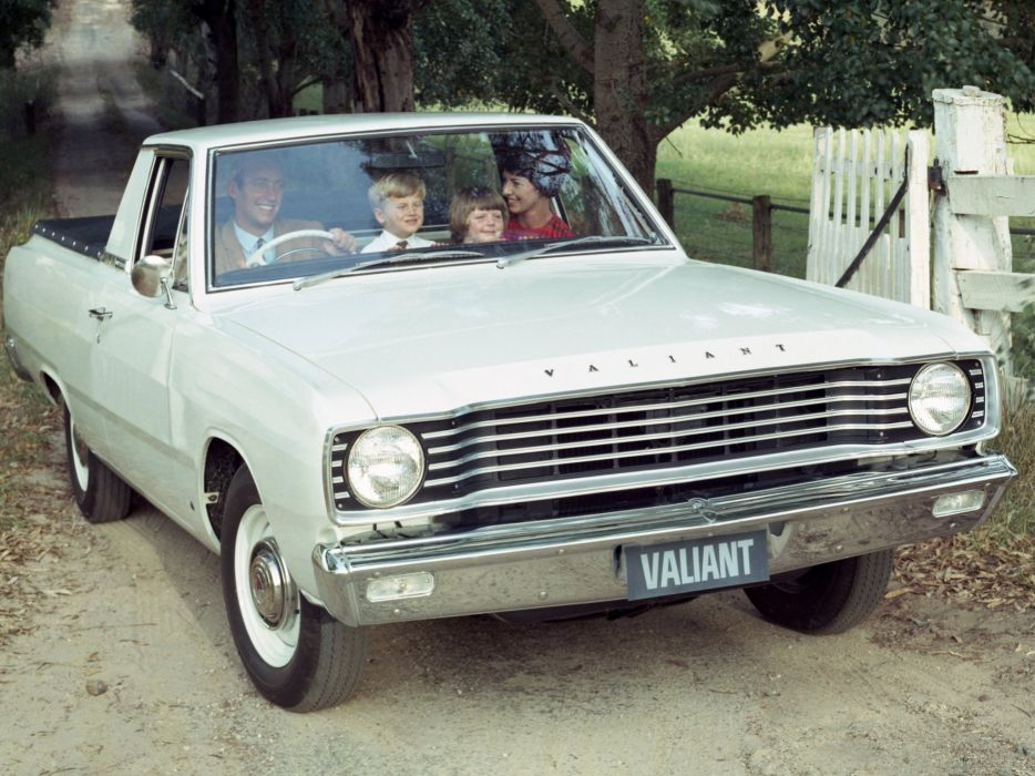 1967-69 Chrysler Valiant Wayfarer Utility (V-E) pickup classic   d wallpaper