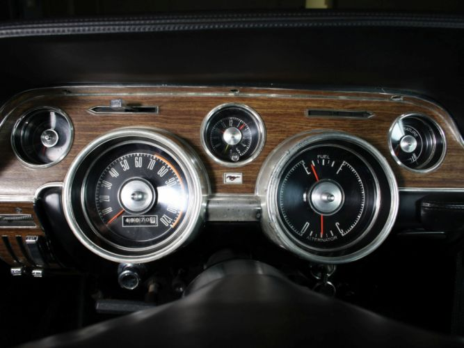 1968 Ford Mustang G-T Hardtop muscle classic interior b wallpaper