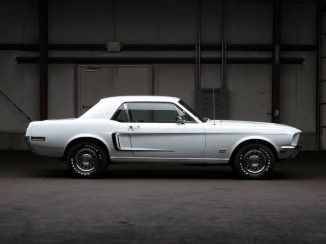 1968 Ford Mustang G-T Hardtop muscle classic f wallpaper